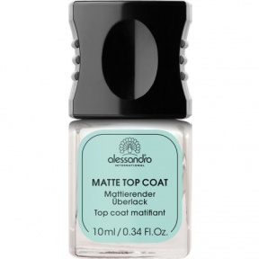Alessandro (Алессандро) Матовое верхнее покрытие (Matte Top Coat), 10 мл.